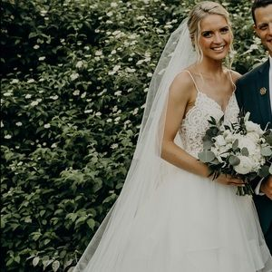 L'Amour Calla Blanche Wedding Dress